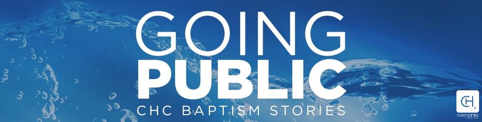 Baptism Stories @ CHC