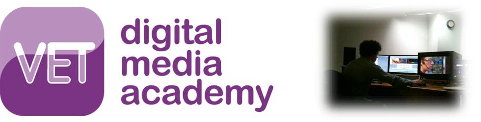 VET digital media academy free tutorials