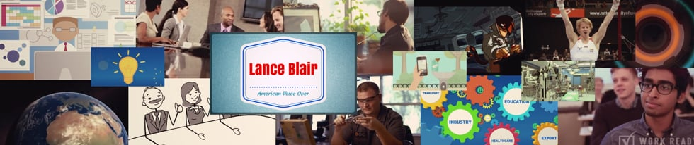 American Male Voice Over Talent Lance Blair