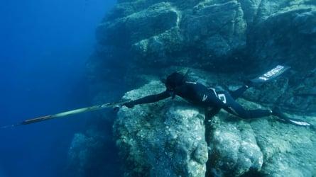 Bibou's spearfishing experience