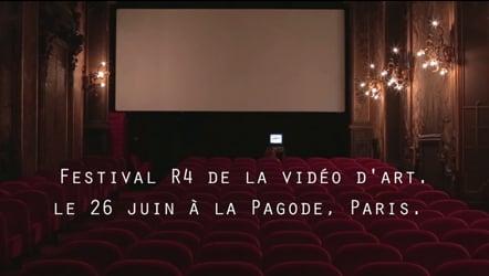 """""""Allez Y!"""" acte 3 : Festival R4 de la vidéo d'art"""