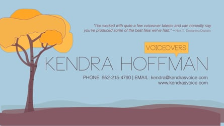 Kendra Hoffman - Voice Actor
