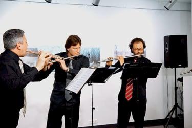 Flute ensemble Doppler-Sextet