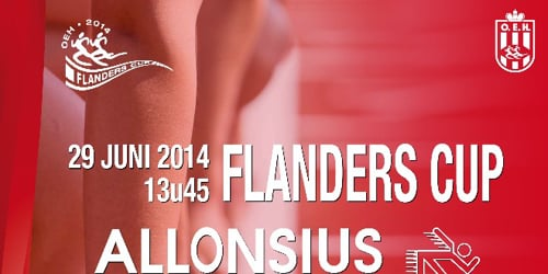 Interviews + racevideo's 1e Internationale Allonsius Sport Flanders Cup