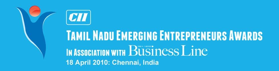 CII Tamil Nadu Emerging Entrepreneurs Awards 2010