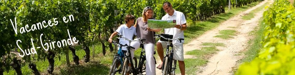 Vacances en Sud-Gironde