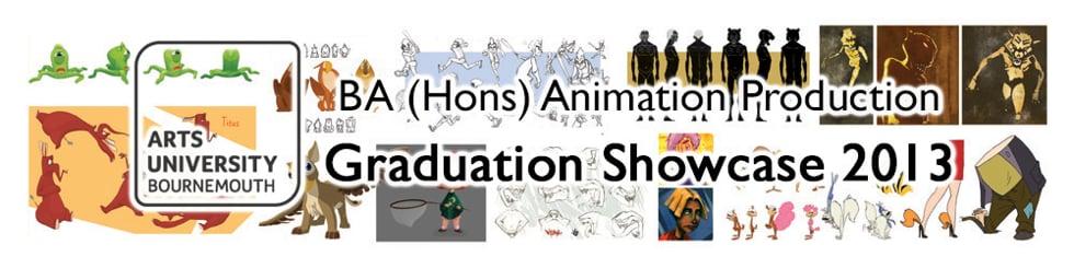 2013 Graduation Animations - BA (Hons) Animation Production, AUB