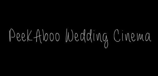 Peekaboo Wedding Cinema