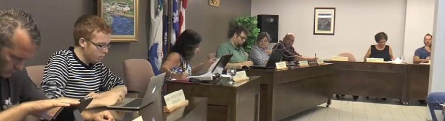 Séance du conseil municipal de Grande-Vallée