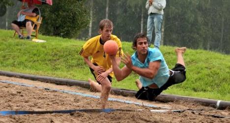 Vintrosa Beachhandboll