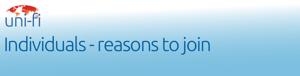 Individuals - Reasons to join