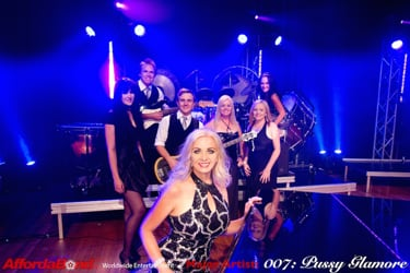 Pussy GlamOre: The World's BEST 007 James Bond Tribute Show Band!