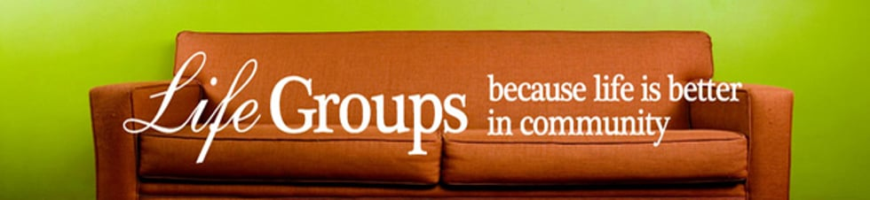 Student Ministry LifeGroups
