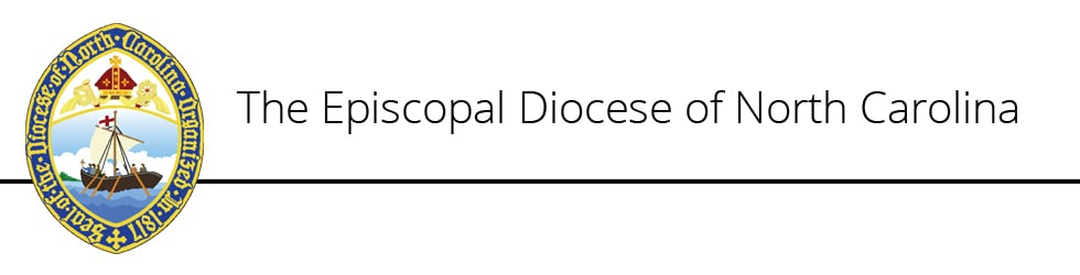Please Note from the Episcopal Diocese of North Carolina