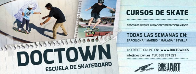 Doctown Curso de Skate - Clases de skate todas las semanas!