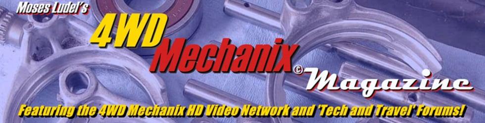 4WD Mechanix Video Network Channel