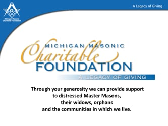 Michigan Masonic Charitable Foundation: Ambassadors Meeting