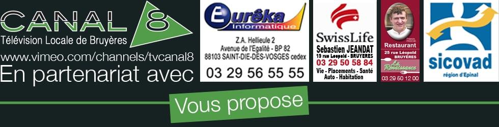 Télévision Locale Canal8 Bruyères
