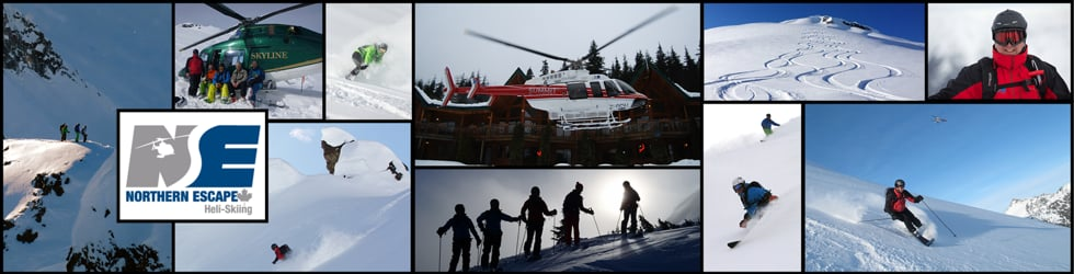 Featuring Northern Escape Heli Skiing