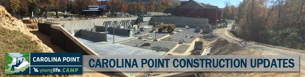 Construction Updates, Past & Present at Carolina Point