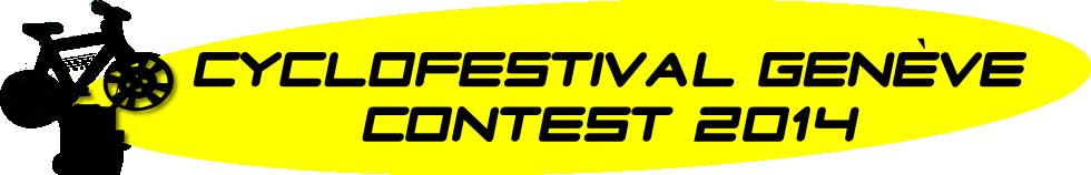 Cyclofestival Genève Concours // Competition 2014