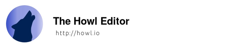 The Howl Editor