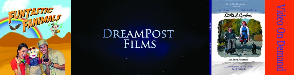 DreamPost Films Video On Demand (VOD)