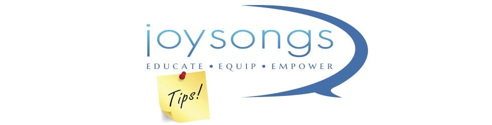 Joysongs Tips
