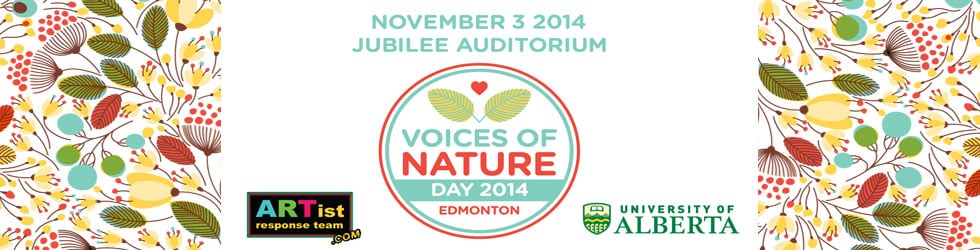 Voices of Nature Day Edmonton 2014