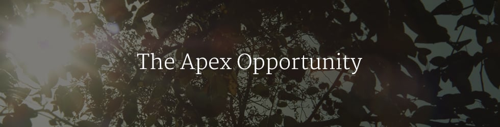 The Apex Opportunity