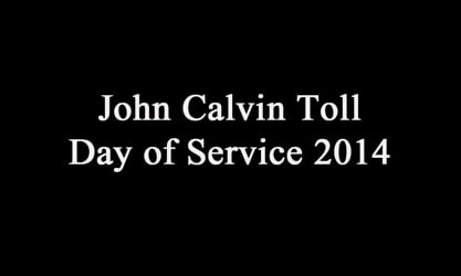 John Calvin Toll Day of Service