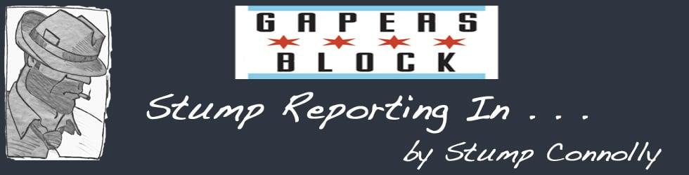 Stump Reporting In . . .