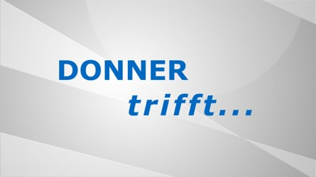 DONNER trifft...