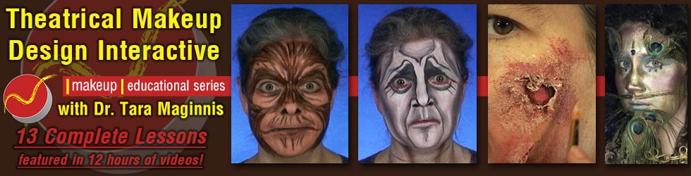 Theatrical Makeup Design Interactive