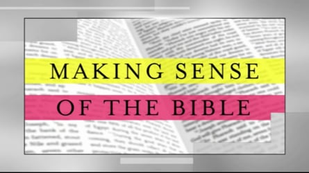 """""""Making Sense of the Bible"""" for Small Groups"""