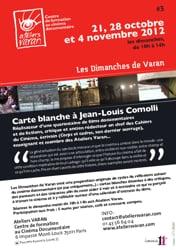 Jean-Louis COMOLLI - Entre champ et hors-champ