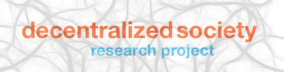 Decentralized Society Research Project