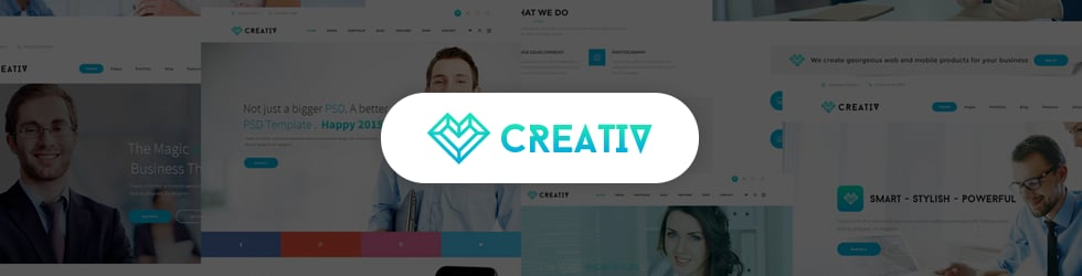 Creativ HTML5 Template Video Guides