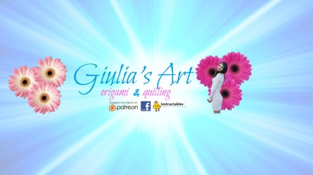 DIY - Origami and Quilling for beginners - Giulia's Arts