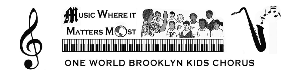 One World Brooklyn Kids Chorus