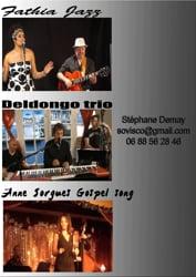 Video Trio Jazz, Salsa, Bossa et soul