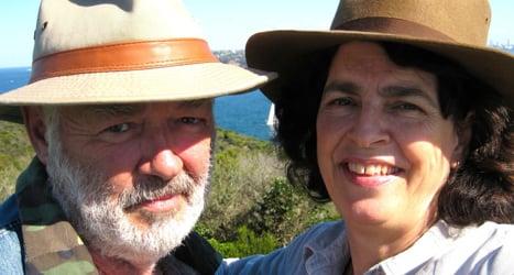 Harriet Clutterbuck and Scott Roberts