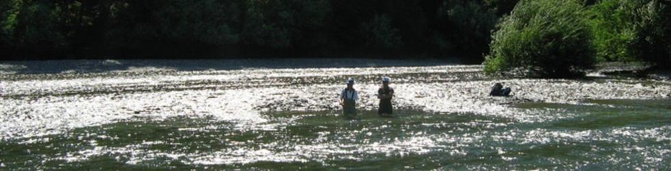 Pescando en Patagonia Argentina