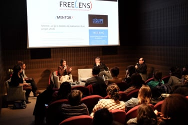 Les sessions du prix Mentor FreeLens