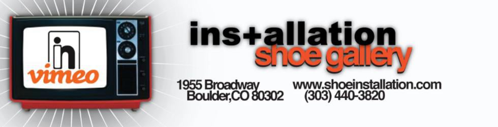 Installation Shoe Gallery