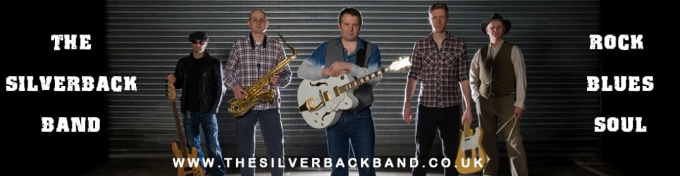 The Silverback Band, Live and NEW !