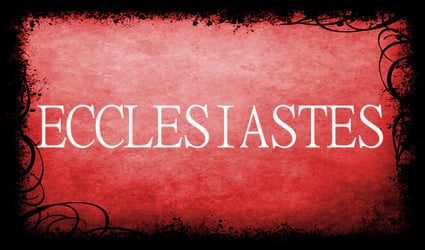 Ecclesiastes:  Finding Life And Joy In A Broken And Confusing World