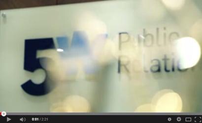 5WPR: 5W Public Relations Vimeo Channel
