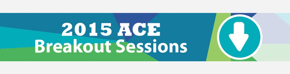 2015 ACE Summit | Breakout Sessions
