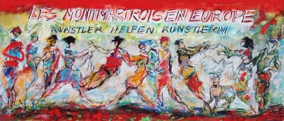 Förderungen in der Künstlerkolonie in Mijas/ Pueblo von Les MontmARTrois en Europe